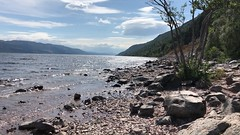 Loch Ness - Scottish Highlands - Scotland - 27/7/2018 (DanoAberdeen) Tags: scotch wow blue bluesky environment lochnessmonster riverbank seashore nature freshair landscape camping hiking hills mountains walk scenery candid amateur winter autumn spring summer lochness freshwater wasser water 2018 drumnadrochit inverness nessie conservation preservation danoaberdeen danophotography loch coastline geotagged mpeg video iphone iphonevideo cryptozoological northsea scottish highlands museum scottishheritage scottishwater wilderness walks bonnyscotland bonnie environmentblue sky olddays