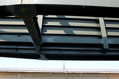 HFF! ||  BRUG & HEK || BRIDGE & FENCE (Anne-Miek Bibbe) Tags: hff hek fence canoneos700d canoneosrebelt5idslr annemiekbibbe bibbe nederland 2018 happyfencefriday brug bridge pont ponte puente krommenolkering wijkaalburg aalburg heusdenskanaal