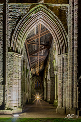 Hear Me And Rejoice #4 (TVZ Photography) Tags: tinternabbey tintern chepstow wales church abbey ruin derelict decay architecture artificiallight lights night evening longexposure sonya7r voigtlander 21mm ultron
