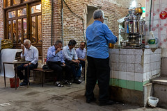 tea time (The eclectic Oneironaut) Tags: 2018 6d canon eos iran selected tabriz travel viajes tea te bazaar iranian people city life eastazerbaijanprovince irán ir