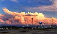 (Cliff Michaels) Tags: iphone8 photoshop pse9 landscape clouds evening