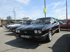Ford Capri 2.8 Injection Special D693BCW (Andrew 2.8i) Tags: sports sportscar acecafe london capri ford coupe hatch hatchback mark 3 iii mk mk3 german 2800 28 v6 cologne special injection