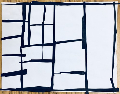 "Same #pietmondrian #kindergarten gridded #collage at its most simple elegance in black and white • <a style=""font-size:0.8em;"" href=""http://www.flickr.com/photos/57802765@N07/43177976764/"" target=""_blank"">View on Flickr</a>"