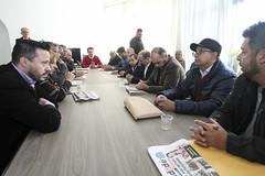 Reunião com representantes dos Jornais dos Bairros de Curitiba