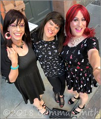 July 2018 - Sparkle weekend in Manchester (Girly Emily) Tags: crossdresser cd tv tvchix tranny trans transvestite transsexual tgirl tgirls convincing feminine girly cute pretty sexy transgender boytogirl mtf maletofemale xdresser gurl glasses dress canalstreet canalst manchester sparkle stilettos highheels