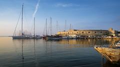 Lega Navale - Trapani - Italy (I. Bellomo) Tags: fujifilm trapani ngc sea sicily sicilia italy italia sunset sunrise landscape boat