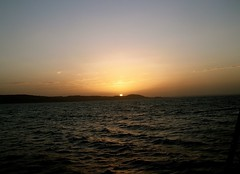 Magical Places and Things - Egypt - Suez Canal (The Spirit of the World ( On and Off)) Tags: suezcanal water waterway middleeast northafrica sun light sunset peaceful cruise egypt waves evening dusk mood atmoshere