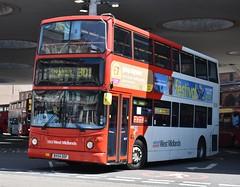 'National Express West Midlands' Transbus Trident 2 '4600' (BX54 DDF) (K.L.Jenkins) Tags: nationalexpress westmidlands transbus trident 2 4600 bx54ddf nxwm stpauls walsall