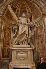 IMGP2093 (Maurizio Masini) Tags: roma rome rom vatican vaticano sanpietro statue saints