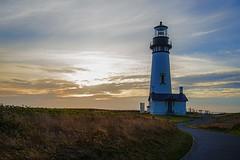 Yaquina Head Lighthouse (My Americana) Tags: yaquinahead lighthouse newport oregon oregoncoast sunset scenic