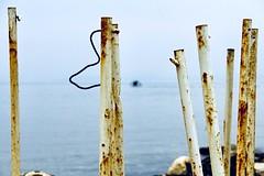 Seaside (Halit Volkan Cengiz) Tags: lovely sky horizon sand blue seascape landscape bar sea eos canon halitvolkancengiz 60d