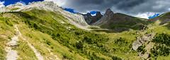 Sierra d'Aísa - Panorama (Mikel Rmx) Tags: sierradaisa parquenaturaldelosvallesoccidentales lajacetania pirineos naturaleza fotografíapanorámica panoramas picoaspe puntanapazal puntaesper picodaisa lienadegarganta fotografíadepaisaje senderismo gr11