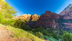 Zion_1047-HDR-2 (allen ramlow) Tags: zion national park utah landscape mountain canyon desert sony a7iii hiking hiker trail sunrise