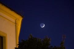 The Moon in Sevilla (Val in Sydney) Tags: seville sevilla spain