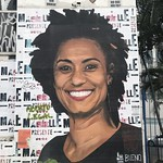 Tribute to Marielle Franco in São Paulo, Brazil. thumbnail