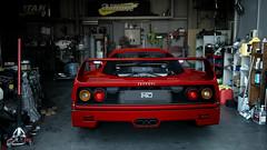 Ferrari F40 (Matze H.) Tags: ferrari f40 gt sport gran turismo classic car supercar garage wallpaper scapes screenshot uhd 4k