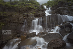Nature (soumitra911) Tags: waterfall water flow long exposure silk monsoon rain pune india maharashtra tamhini tree clouds sky mountain trek hike ghat soumitra inamdar soumitra911