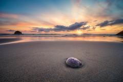 Far From Home (Timothy Gilbert) Tags: wideangle sunset ultrawide lumix laowacompactdreamer75mmf20 beach lovecornwall jellyfish m43 microfourthirds trebarwith microfournerds photowalk coast gx8 panasonic cornwall
