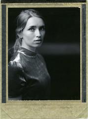 M. (denzzz) Tags: portrait polaroid54 expired analogphotography instantfilm filmphotography wista45dx 4x5 largeformat skancheli blackwhite blackandwhite