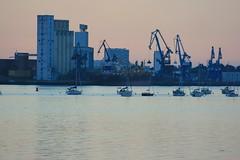 Port de commerce de Kergroise à Lorient (Bretagne, Morbihan, France) (bobroy20) Tags: portlouis lorient radedelorient bretagne france europe mer ville atlantique océanatlantique port portdecommercedelorient kergroise