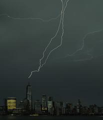 Lighting - Lower Manhattan (Tomingramphotography.com) Tags: lighting lowermanhattan cityscape nyc freedomtower
