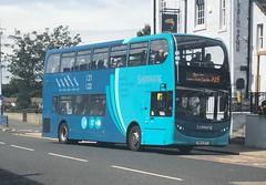 Arriva North East 7525 NK14 GFV (21.07.2018) (CYule Buses) Tags: servicex15 arrivasapphire arrivabus arrivanortheast enviro400 alexanderdennis alexanderdennisenviro400 nk14gfv 7525