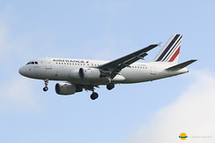 Air France  F-GRXD (airbus02) Tags: airbus a319 airfrance roissy plane paris planespotting spotter spotting skyteam cdg