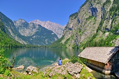 What a wonderful world... (Tobi_2008) Tags: obersee lake alpen alps bayern bavaria berge mountains deutschland germany allemagne germania