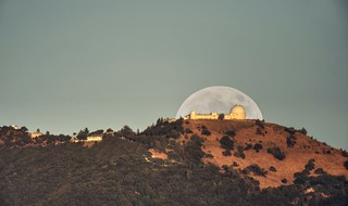 Deflector shield over Lick Observatory