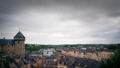 Laval under the rain - Laval sous la pluie (www.szphotographie.com) Tags: laval mayenne france centre ville chateau rivière été cityscape art fineart followme szphotographie color city ambiance inspiration perrine pont nuages ciel sky clouds