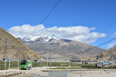Landscape on the way from Lhasa to Lake Namtso (2) (Prof. Mortel) Tags: tibet lake namtso