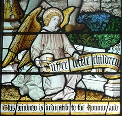 [64542] St Denys, Sleaford : Henry Snow Window (Budby) Tags: sleaford lincolnshire church window stainedglass