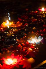 Temple by night (grand Yann) Tags: bougie candle chiangmai stilllife thailand thaïlande macro naturemorte night nuit changwatchiangmai