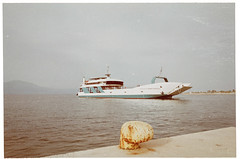 055_27 (jimbonzo079) Tags: ferry boat ship vessel sea expired grain fujicolor 100 fuji fujifilm film negative analog color colour hellas seascape scape art 35mm ωρωποσ αττική ελλάδα ελλασ europe light mood slr 135 greek gr mountain mount day vintage out retro ελλαδα αττικη country oropos scan analoq 2018 outdoor canon ae1 fd 50mm f18 lens canonae1 fd50mmf18 fujicolor100 konicaminoltadimagescandualiv