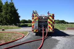 DSC_6737 (matthewleggott) Tags: humberside fire rescue service engine appliance smoke incident flames north newbald market weighton east riding yorkshire