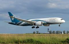 Oman Air Boeing 787-8 Dreamliner A4O-SZ / CDG (RuWe71) Tags: omanair khanjar wyoma sultanateofoman oman muscat boeing boeing787 boeing787dreamliner b787 b788 b7878 boeing7878 boeing7878dreamliner dreamliner a4osz cn36046317 n892ba 5ykzj parisairport parisroissy roissycharlesdegaulle parischarlesdegaulle parischarlesdegaulleairport charlesdegaulleairport aéroportsdeparis lfpg cdg widebody twinjet landing wingflex