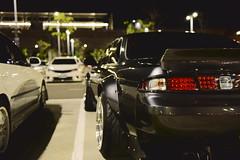 彰化高鐵站 Nissan Silvia S14 (briandodotseng59) Tags: asia taiwan japan nikkor nikon color coth5 sun day light yellow street life road car auto sports old history nissan s14 silvia black