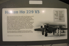 NASM_0301a Horten Ho 229 V3 jet flying wing (kurtsj00) Tags: nationalairandspacemuseum nasm smithsonian udvarhazy horten ho 229 v3 jet flying wing