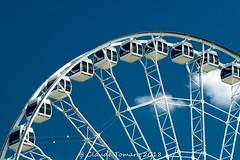 MLT Big Wheel 01 (Claude Tomaro) Tags: montreal meetup mlt quebec claude tomaro sony ferris feris wheel blue sky clouds