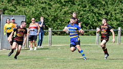 Getting back (Steve Barowik) Tags: yorkshire westyorkshire nikond500 barowik leeds ls26 stevebarowik sbofls26 rugbyleague rl nationalleague 70200mmf28gvrii sport competition try conversion penalty sinbin referee linesman ball pitch sticks posts team watercarrier dx cropframe kick pass offload dropkick forwardpass centre wing prop forward back fullback unlimitedphotos wonderfulworld quantumentanglement oultonraiders shawcrosssharks nationalconferencedivisionone
