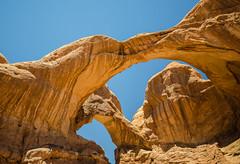 Doubled (Skulk Photography) Tags: color sky light landscape nature arches utah doublearch desert archesnationalpark hiking roadtrip arch rock