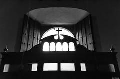 Contracruz (Inaki Iglesias) Tags: contraluz backlighting black white blanco negro church iglesia yucatan mexico san gervasio religion faith cross cruz life travel