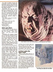 Famous Monsters #187 (1982) The Thing Preview 03 (gameraboy) Tags: vintage famousmonsters 187 1982 thething preview 1980s film movie johncarpenter