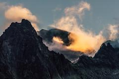 A Red Mountain (cezary.morga) Tags: tatra mountains slovakia landscape sunset clouds