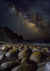 Under The Milky Way (mikeSF_) Tags: california milkyway galaxy astro astrophotography stars star night bowlingball beach mendocino county mikeoria pentax645z 645 645z dfa35 35mm longexposure ocean pacific concretions cenozoic shore shoreline landscape seascape rocks sky mountain schoonergulch