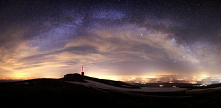 Milkyway Over Chasseral - Switzerland