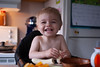 Banana Fiend (Juanita vdK) Tags: smiles surreybc breakfast deltabc toddler vancouverbc littleboys littlemoments
