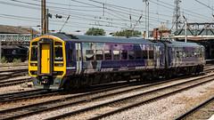 158853 (JOHN BRACE) Tags: 1992 brel derby built class 158 dmu 158853 seen doncaster northern trains livery