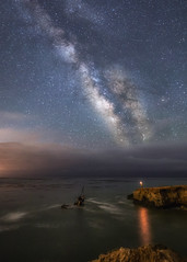 Shipwreck (Eric Zumstein) Tags: blainleblanc milkyway cayucos california unitedstates us shipwreck longexposure nightphotography