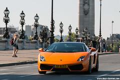 Traversée de Paris Estivale 2015 - Lamborghini Gallardo Bicolore (Deux-Chevrons.com) Tags: lamborghinigallardobicolore lamborghini gallardo bicolore lamborghinigallardo gallardobicolore